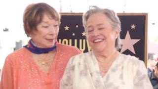 Kathy Bates Receives Star on Hollywood Walk of Fame