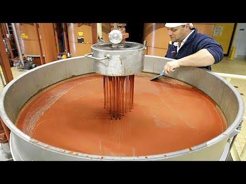 எங்களுக்கு பிடித்த அதிகமான உணவு பொருட்களை இவ்வாறு தான் உற்பத்தி செய்கின்றார்கள்!!!  World Amazing Automatic Food Processing Machines Modern Food Processing Technology