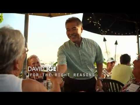 Senator Dan Akaka supports David Ige for Governor