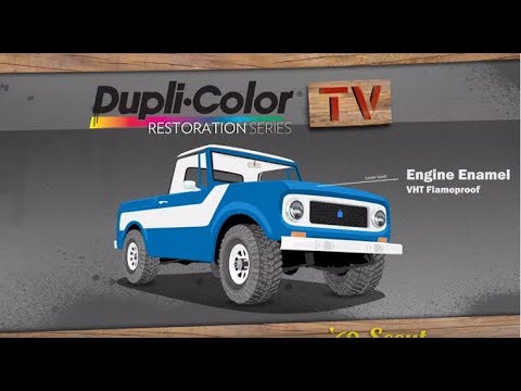 Dupli-Color 2013 Restoration Series: 1969 International Harvester Scout 800 - Episode 2 - Engine Block