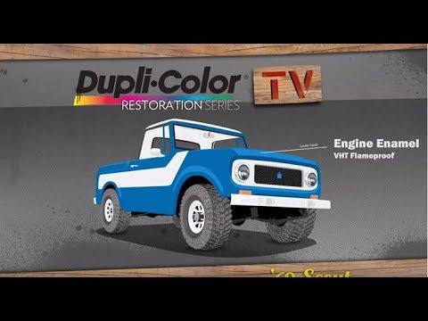 Dupli-Color 2013 Restoration Series: 1969 International Harvester Scout 800 - Episode 2 - Engine Block