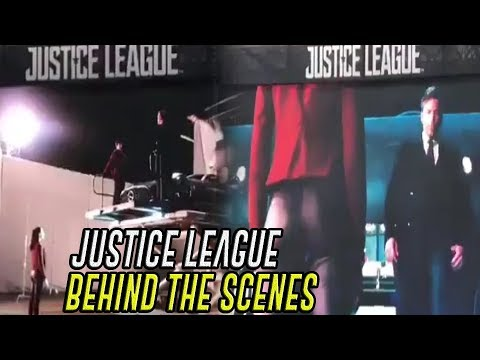 Justice League Behind the Scenes / Justice League detrás de cámaras