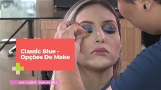 Opções De Make Com O Classic Blue