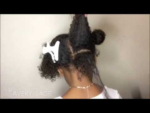 Curly hairstyles - Curly kids hairstyles on natural hair