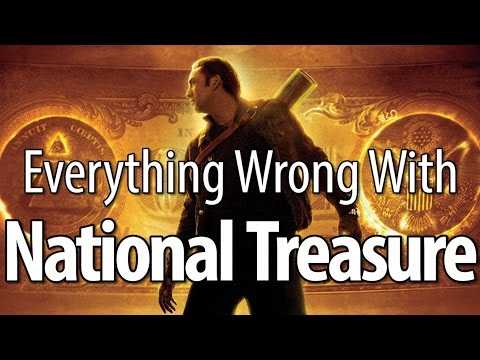 minutes - Many of you have been requesting this for a long time. Oh, and I think this is our first official Nicholas Cage movie, so... plenty of reasons to bring you Everything Wrong With National Treasure....