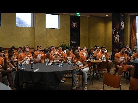 Texas Men's Basketball NCAA Selection Show Reaction [March 12, 2018]