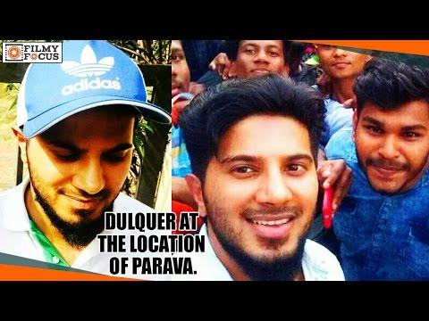 Dulquer Salmaan At The Location Of Parava Malayam Movie|| Soubin Shahir - Filmyfocus.com