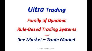 Introduction to Thomas SAW's Ultra Trading - April 2015 - 14042015 - 01