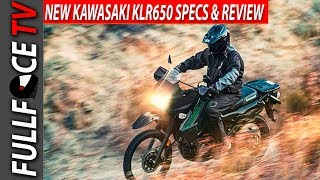 2. 2017 Kawasaki KLR650 Review, Specs and Rumors