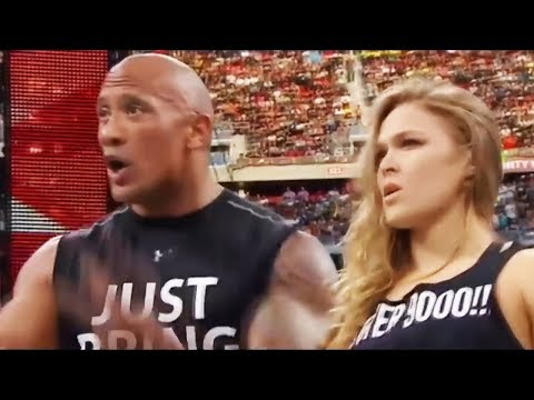 WWE HIGHLIGHTS Ronda  Rousey - NEW STAR
