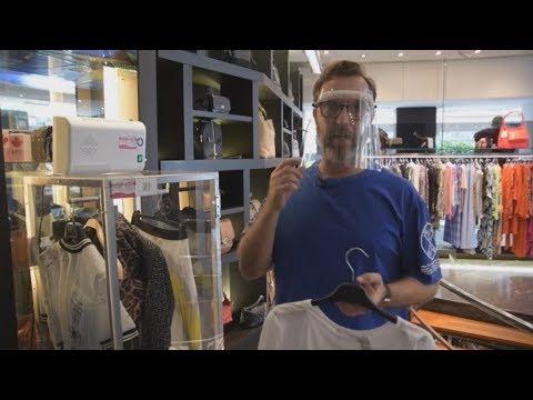 Ισπανία:Καταστήματα μόδας λειτουργούν με οζονιστές στις βιτρίνες για να ψωνίζουν άφοβα οι πελάτες