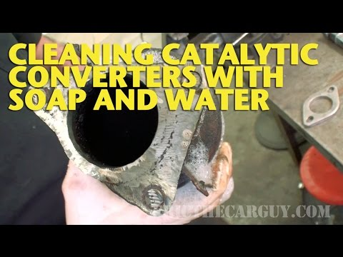 Cleaning Catalytic Converters With Soap and Water -EricTheCarGuy