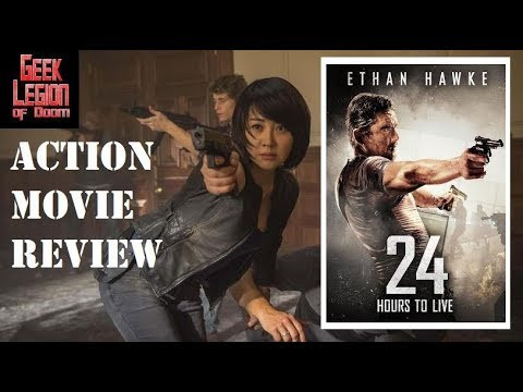 24 HOURS TO LIVE ( 2017 Ethan Hawke  ) Action Movie Review