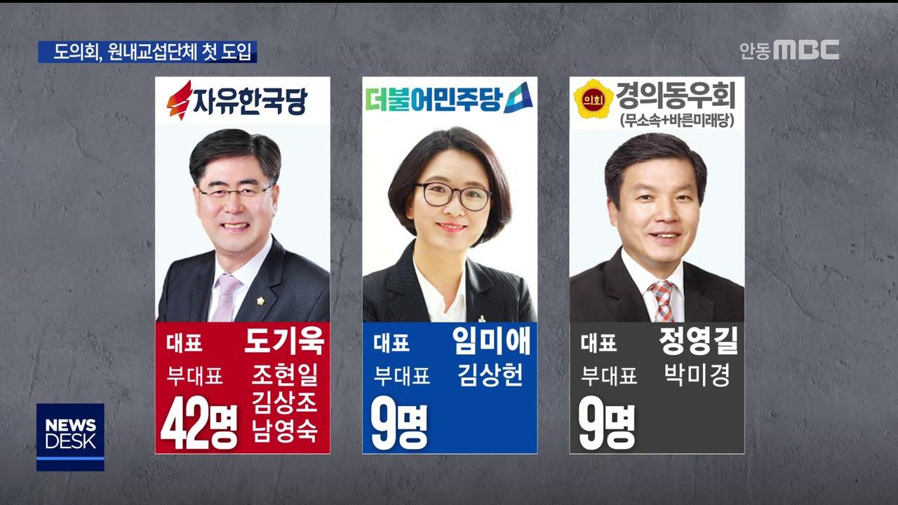 [R]경북도의회, 원내교섭단체 제도 첫 도입