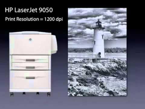 HP LaserJet 9050 Printer Overview 01 55