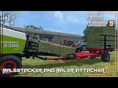 Pack Balestacker and baler attacher v1.0