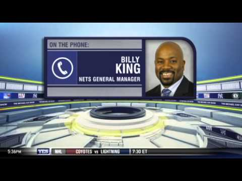 Video: Billy King on the Nets expectations - The Michael Kay Show
