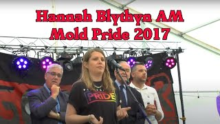 Flintshire Pride Opening with Hannah Blythyn AM