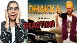 DHAKKA :Sidhu Moose Wala ft.Afsana Khan| Official Music Video| Latest Punjabi Songs 2019 | Reaction