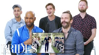 Video 'Queer Eye' Cast Reviews the Internet's Biggest Wedding Videos | Brides MP3, 3GP, MP4, WEBM, AVI, FLV Mei 2019