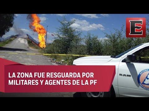 Sofocan incendio en toma clandestina de gas tras más de 50 horas