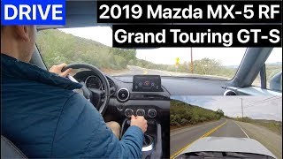 2019 Mazda MX-5 Miata RF GT-S Drive by MilesPerHr