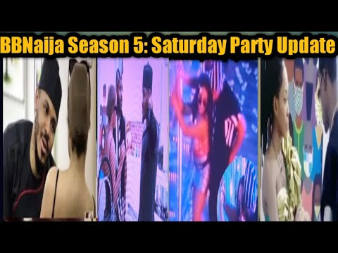 BBNaija Season 5:  Saturday Night Party Update // Erica and Kidwaya  Took it to Another Level