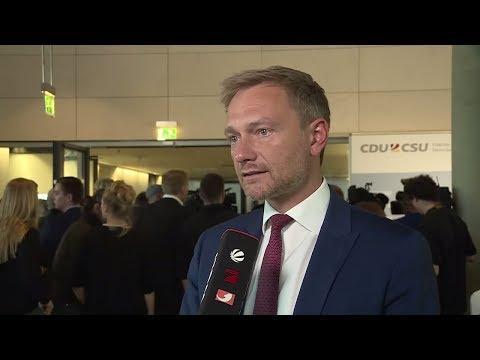Christian Lindner zur Brinkhaus-Wahl: