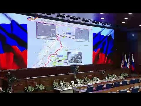 Verteidigungsministerium  Russlands zu Syrien - das P ...