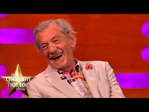 Sir Ian McKellen Accidentally Does Another Dame Maggie Smith Impression  The Graham Norton Show