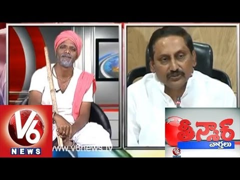 Mallanna Encounter on CM Kiran Press Meet - Facts on Telangana - Teenmaar News