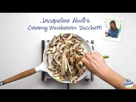 Creamy mushroom zucchetti thumbnail 2