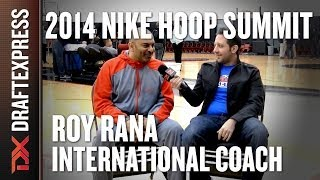 Roy Rana - International Coach - 2014 Nike Hoop Summit