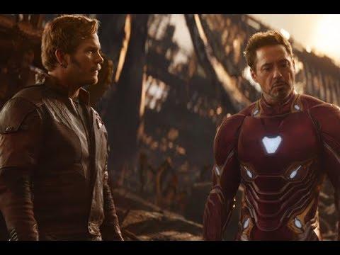 AVENGERS INFINITY WAR Iron Man Vs Star Lord TV Spot HD