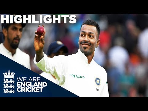 Pandya stars as England collapse | England v India 3rd Test Day 2 2018 - Highlights_Legjobb videók: Sport