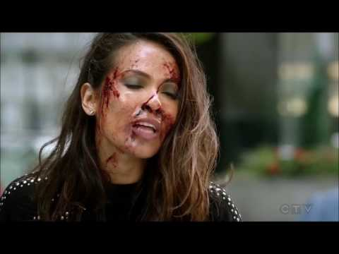 Lucifer 2x17 Lucifer and Maze's fight