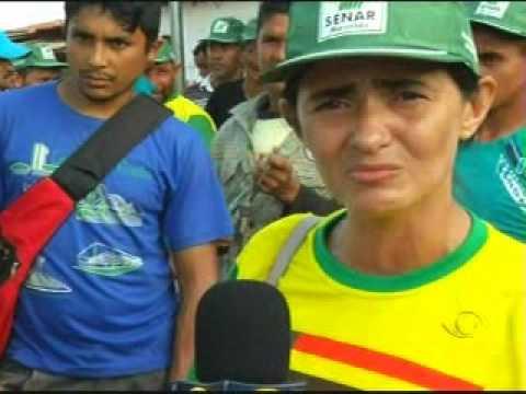 Reportagem da BAND - Desocupação das terras Awá-Guajá