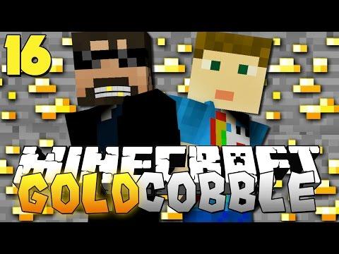 Minecraft: GOLD COBBLESTONE MODPACK | MARS = COBBLE?! [16]