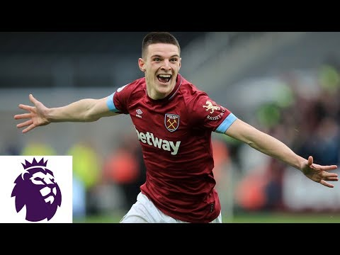 Video: Declan Rice strikes to put West Ham ahead | Premier League | NBC Sports