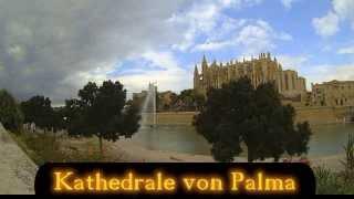 Wolkenspiele über der Kathedrale von Palma