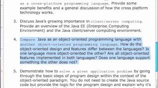 OO Design In Java - PPT Lecture 6 - Live (3/14/11)