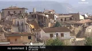 Earthquake In Abruzzo, Italy