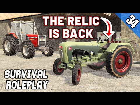 THE OLD RELIC!? BIG FARMING DAY!  - Survival Roleplay S3 | Episode 34