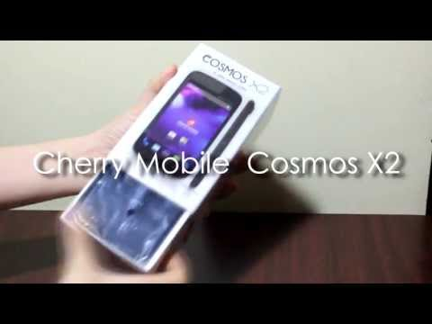 Cherry Mobile Cosmos X2 Android jellybean 4.2 smartphone unboxing