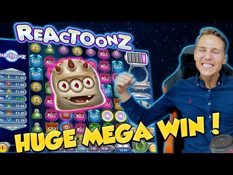 BIG WIN!!! Reactoonz Huge Win – Casino Games – free spins (Online Casino)