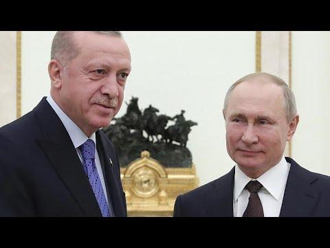 Συμφωνία Πούτιν και Ερντογάν για εκεχειρία από σήμερα τα μεσάνυχτα στο Ιντλίμπ…