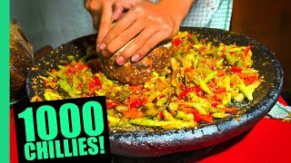 Video EXTREME Spicy Food Challenge in Jakarta! HUGE 32 Kinds of Sambal and LEVEL 5 Seblak! MP3, 3GP, MP4, WEBM, AVI, FLV Agustus 2019