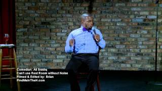 Comedian ALI Siddiq Cannot Use The Rest Room .mp4