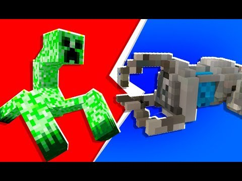 Minecraft - 4-Player Tech Guns Monster Island | JeromeASF
