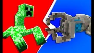 Minecraft - 4-Player Tech Guns Monster Island | JeromeASF
